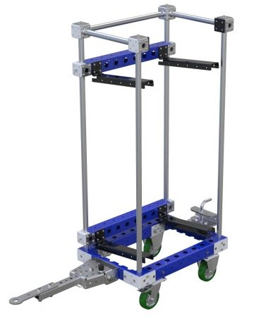 Cart with Hangers - 490 x 700 mm