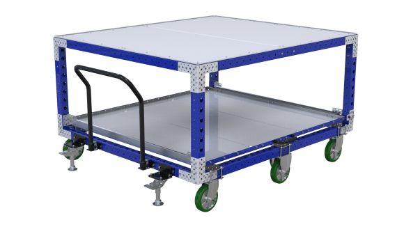 Extendable Shelf Cart - 1680 x 1890 mm