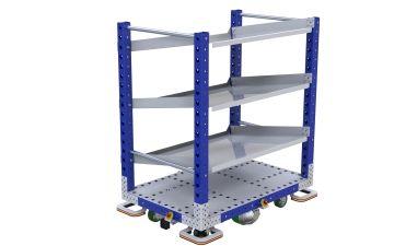 eQart - Flow Shelf EU 840 x 1260 mm