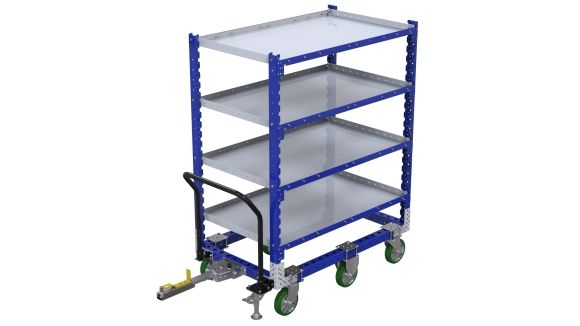 Flat Shelf Cart - 840 x 1400 mm