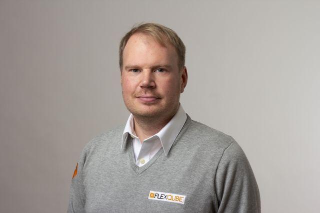 CFO of FlexQube Mikael Lindbäck