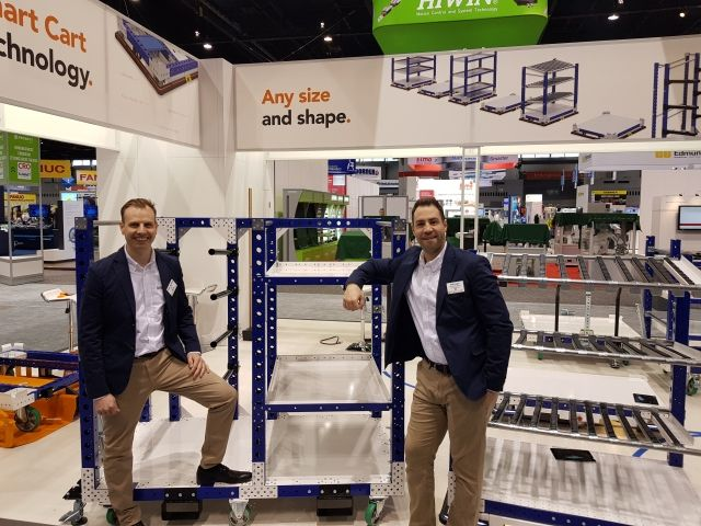 CEO Anders Fogelberg & Sales Manager Andy Legut