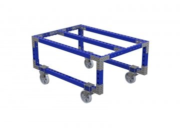 Flat Deck Cart for Mother Daughter - 1540 x 840 mm
