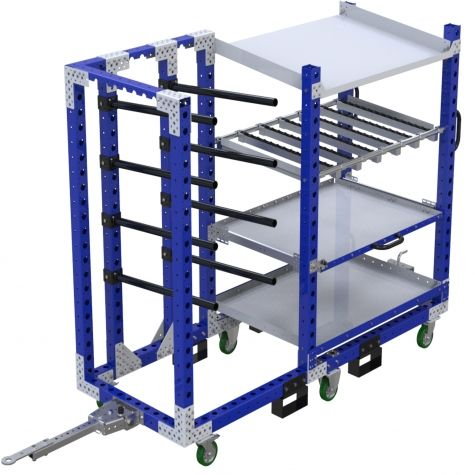Cart with Hangers- 2170 x 840 mm
