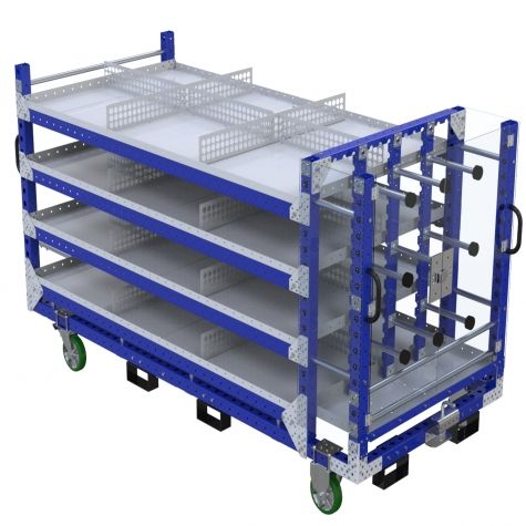 Shelf Cart - 1260 x 2870 mm
