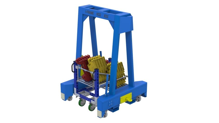 Kit Cart For I-frame - 770 x 1190 mm