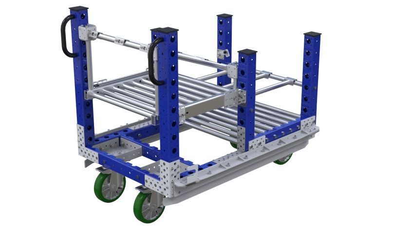Kit Cart For I-frame (Left) - 770 x 1190 mm