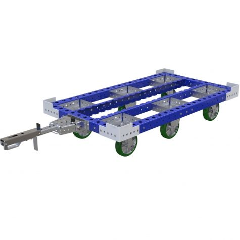 Pallet Tugger Cart - 840 x 1470 mm