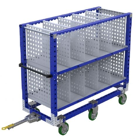 Shelf Tugger Cart - 770 x 1890 mm