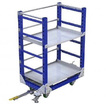 Flat Shelf Cart - 700 x 1190 mm