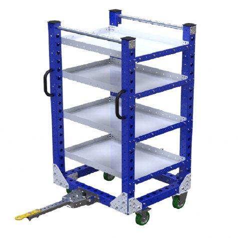 Flat Shelf Cart - 700 x 840 mm