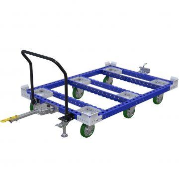 Carro de paleta remolcador - 1260 x 1750 mm