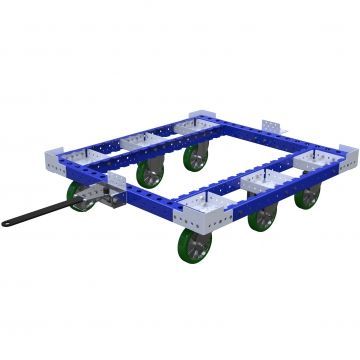 Carro remolcador de palés - 1190 x 1260 mm