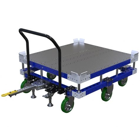 Flatbed Tugger Cart - 1190 x 1260 mm