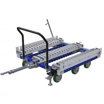 Carro con ruedas remolcador - 1260 x 1260 mm
