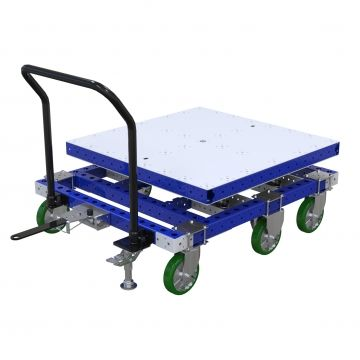 Tugger Cart - 1470 x 4760 mm