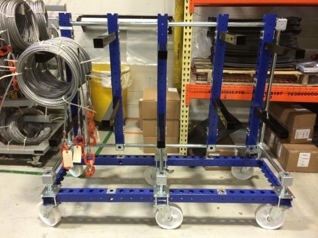 Wire Rope Cart