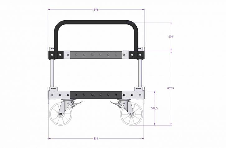 Pallet Cart High
