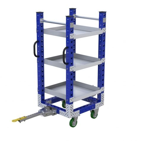 Flat Shelf cart - 25 x 28 inch