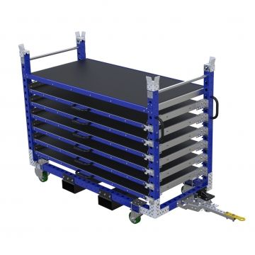 Extendable Shelf Cart - 840 x 1890 m