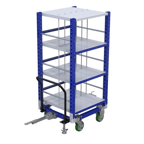 Custom Flat shelf cart