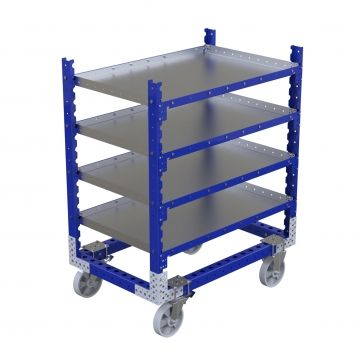 Flat Shelf Cart - 1190 x 770 mm