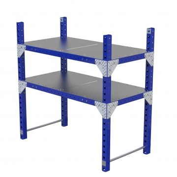 Pallet rack from FlexQube