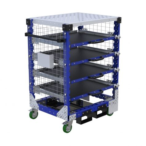 Custom Shelf cart