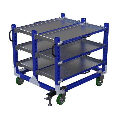 Extendable Shelf Cart - 1260 x 1400 mm