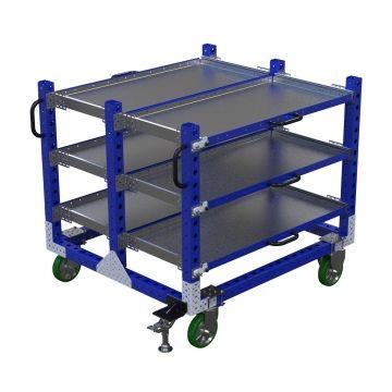 Extendable Shelf Cart - 1260 x 1400 mm