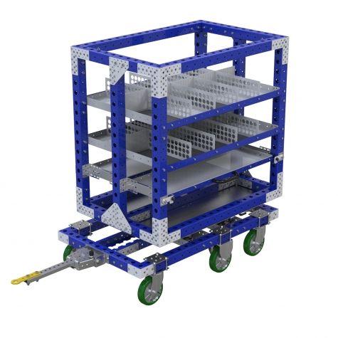 Rotating Shelf Cart - 840 x 1400 mm