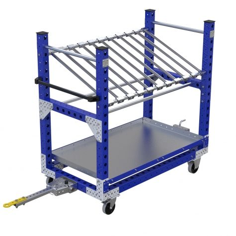 Shelf Tugger Cart - 770 x 1400 mm