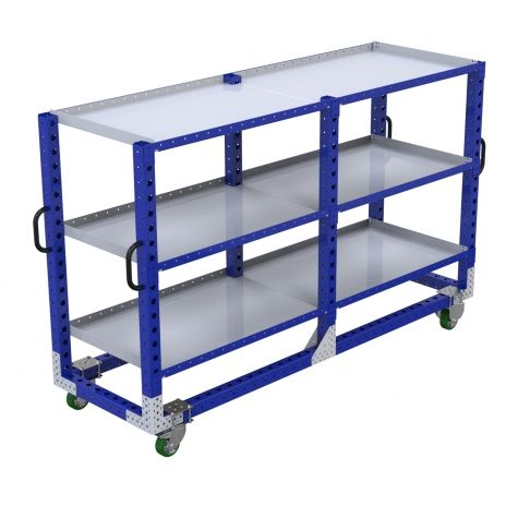 Flat Shelf Cart - 770 x 2450 mm