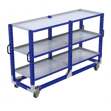 Long shelf cart
