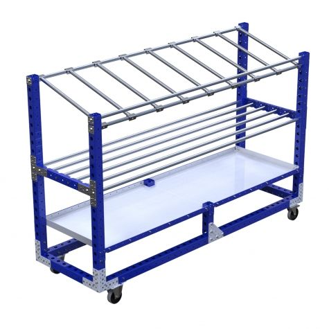 Shelf Cart - 770 x 2450 mm