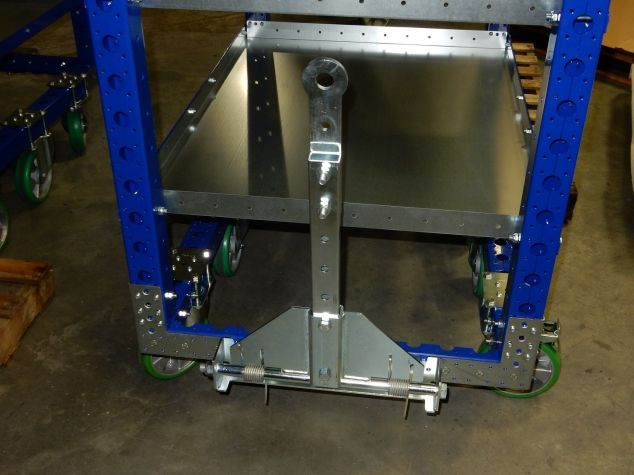 Flat Shelf Cart 1260 x 840 mm