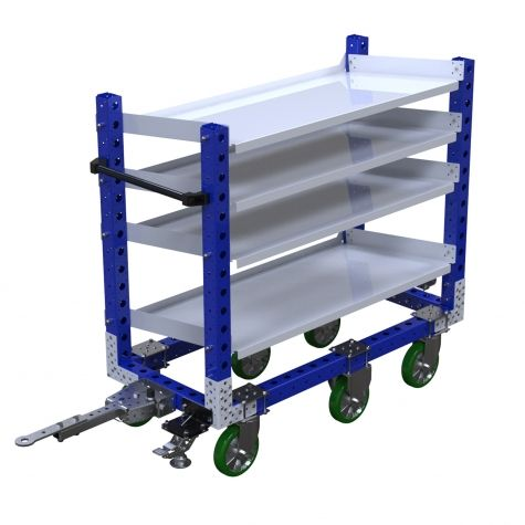 Flow Shelf Cart - 630 x 1400 mm