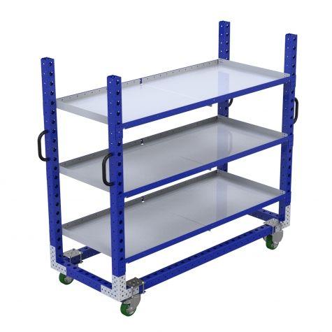 Flat Shelf Cart - 770 x 1890 mm