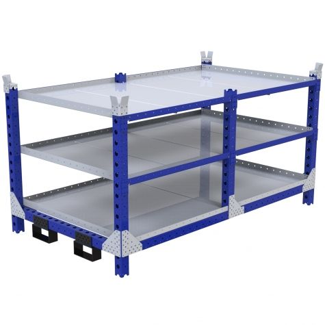 Flat Shelf Rack - 1260 x 2240 mm