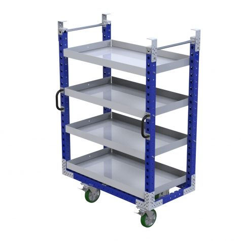 Flat Shelf Daughter Cart - 700 x 1330 mm