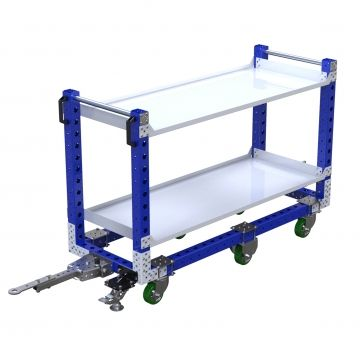 Flat Shelf Cart - 630 x 1680 mm