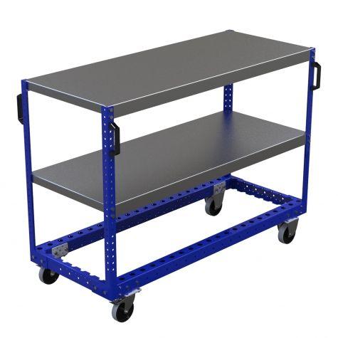 Flat Shelf Cart - 630 x 1540 mm