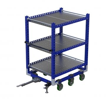 Flat shelf cart - 55 x 41 inch