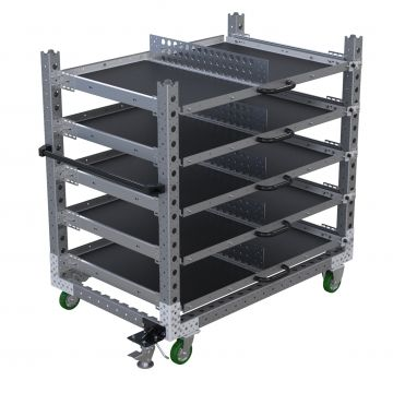 Extendable Shelf Cart - 910 x 1400 mm
