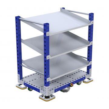 Q-041-0022 Flow shelf eQart
