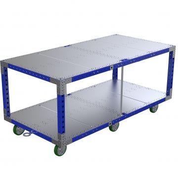 Large Shelf Cart 99.4 x 49.8 inch