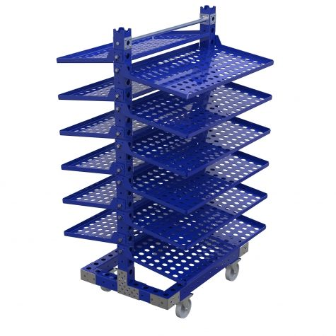 Removable Flow Shelf Cart 878 x 920 mm