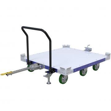 Carro remolcador de palés - 1260 x 1400 mm