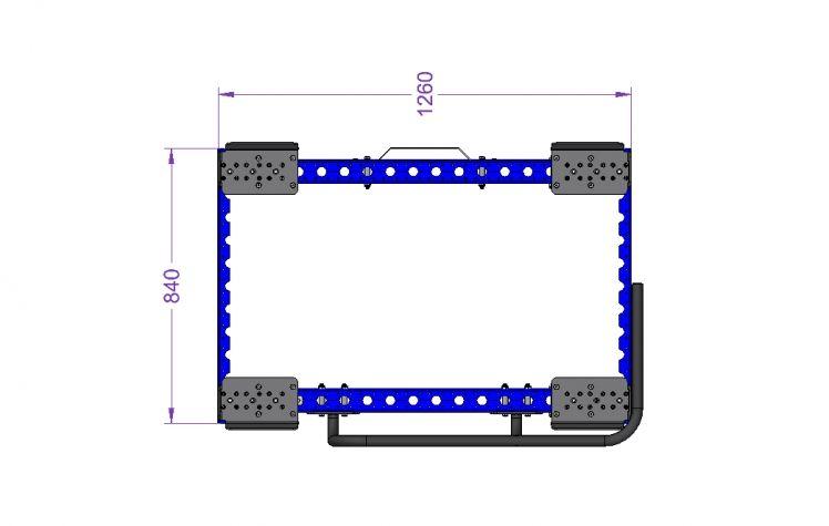 Standard EUR-Pallet Trolley