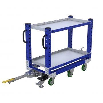 Shelf Tugger Cart - 560 x 1190 mm